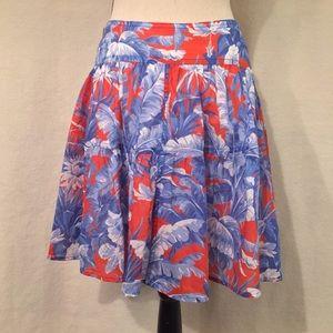 J. Crew tiered mini skirt Ratti Rio floral